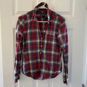 American Eagle (XS) Plaid Shirt